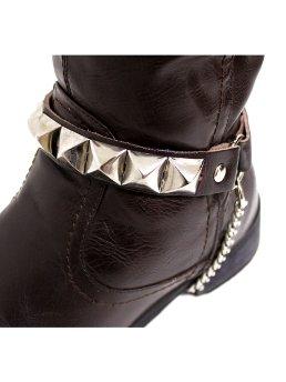Leder Stiefelbänder