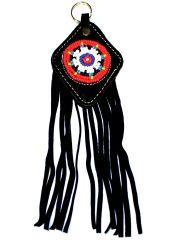 Leder Schlüsselanhänger Indianerschmuck