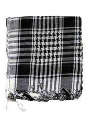 Pali Tuch Muster schwarz weiß