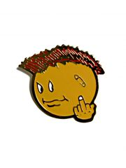 Anstecker Pin Punk Smiley