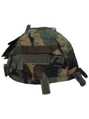 Helmbezug mit Taschen verstellbar woodland