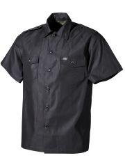 US Kurzarm Outdoor Hemd schwarz