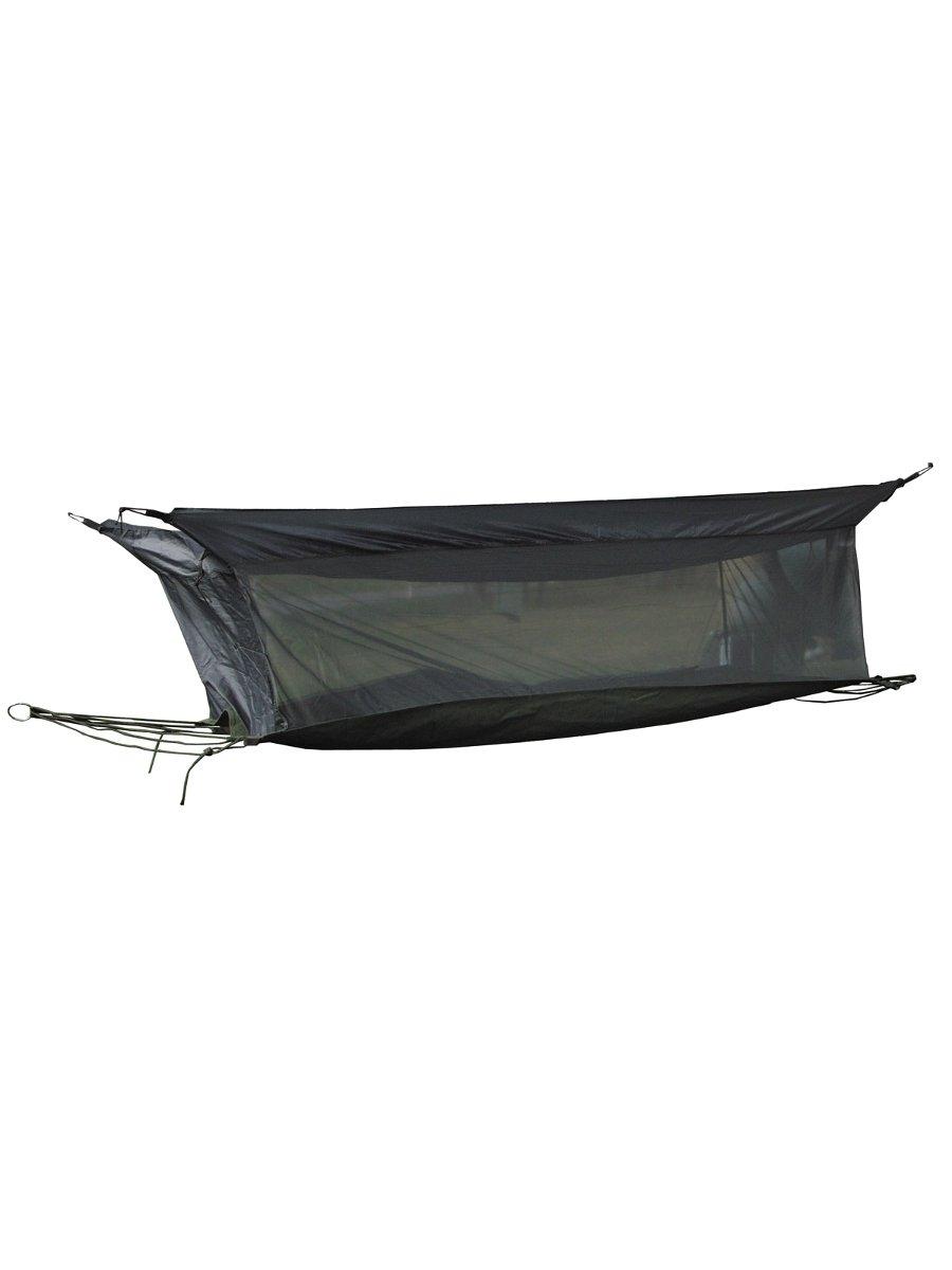 h ngematte einmannzelt mit dach und moskitonetz oliv. Black Bedroom Furniture Sets. Home Design Ideas