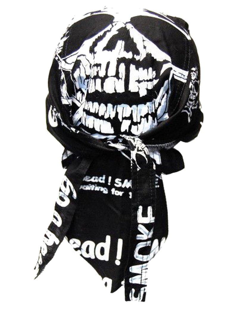 bandana cap dead head auch zandana kopftuch. Black Bedroom Furniture Sets. Home Design Ideas