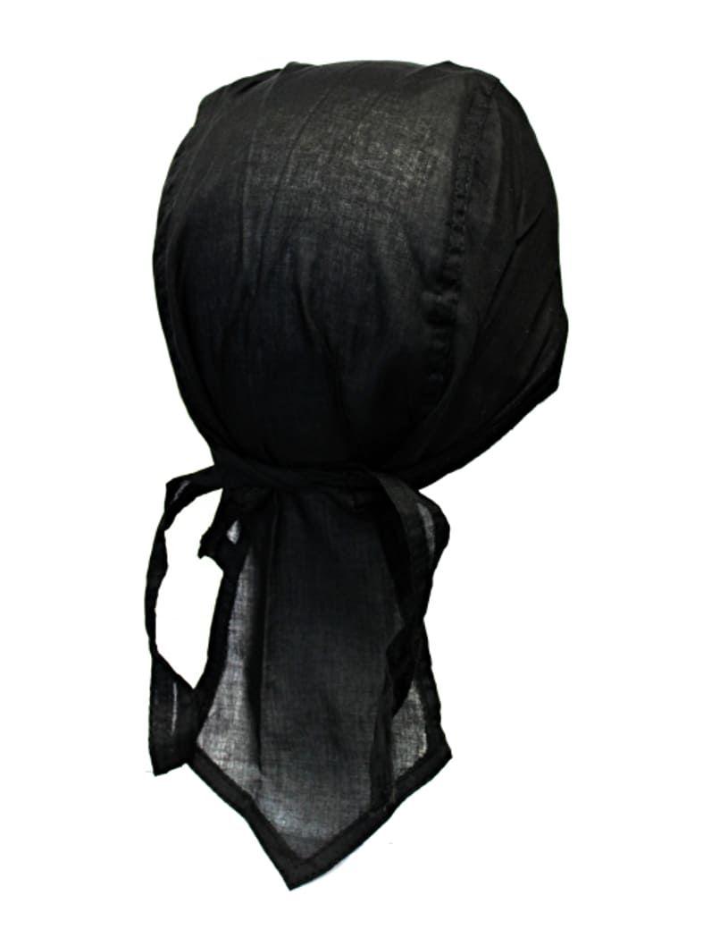 bandana cap schwarz auch zandana kopftuch. Black Bedroom Furniture Sets. Home Design Ideas