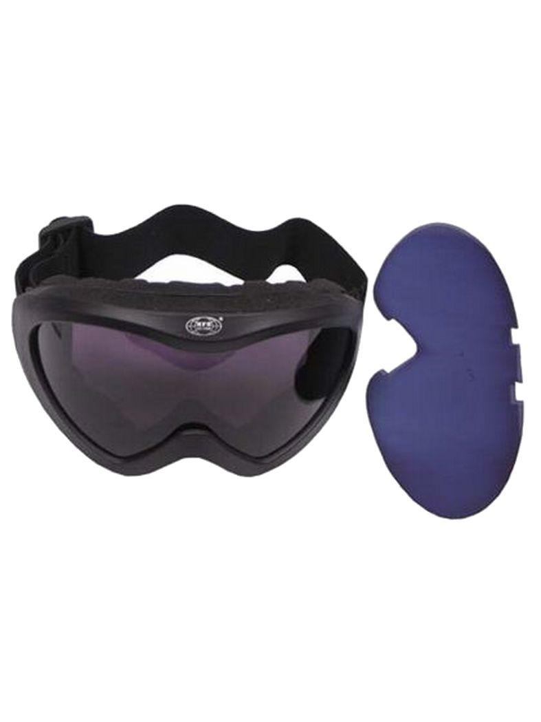 US Staubschutzbrille M44 schwarz