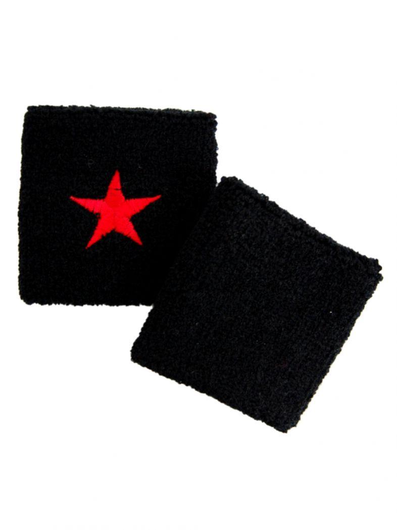Schweißbänder roter Stern
