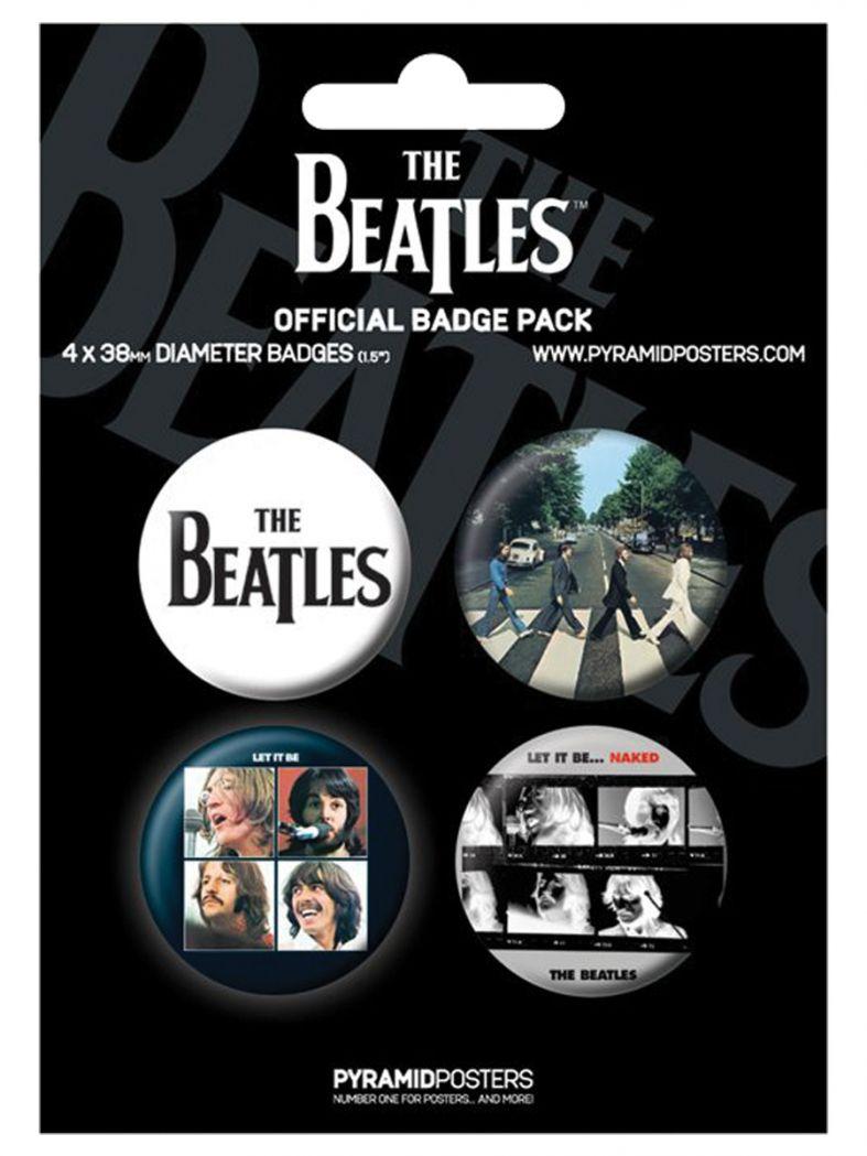 Button Set Beatles