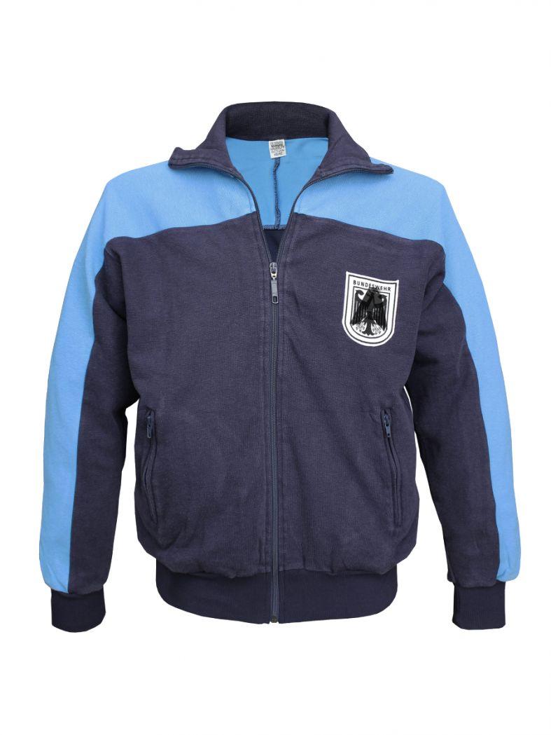 Bundeswehr Trainingsjacke blau gebraucht