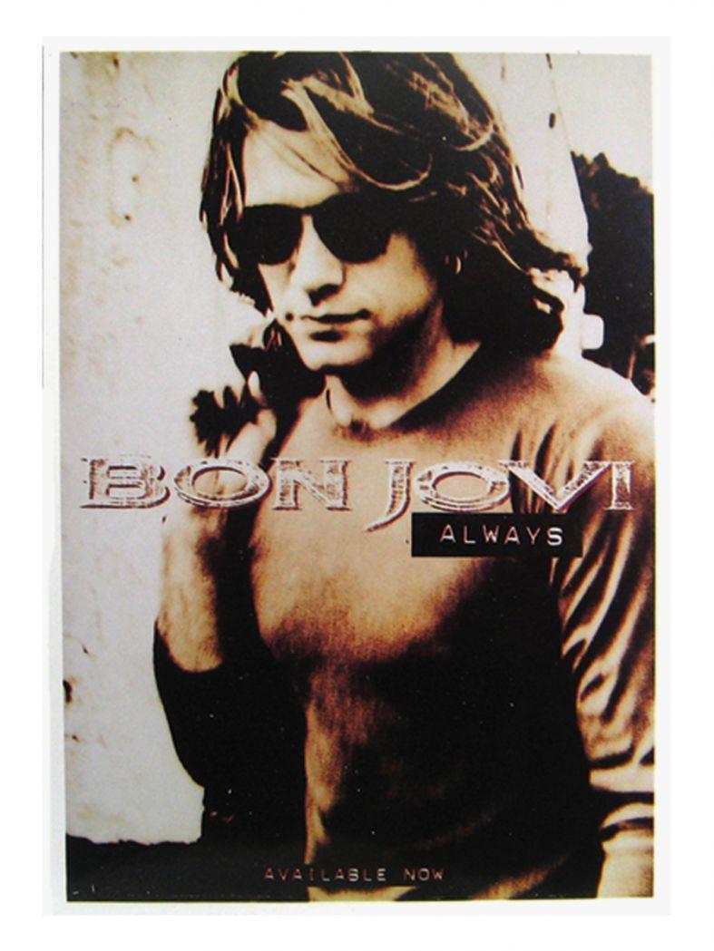 3 Bon Jovi Always Postkarten