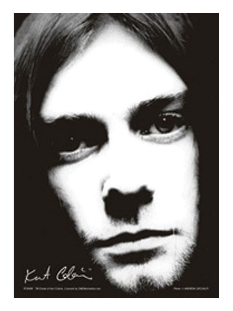 3 Kurt Cobain Black & White Postkarten