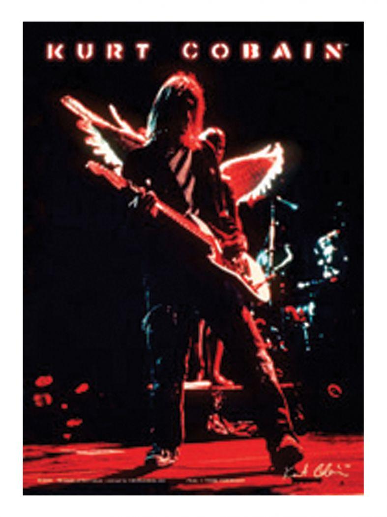 3 Kurt Cobain Konzert Postkarten