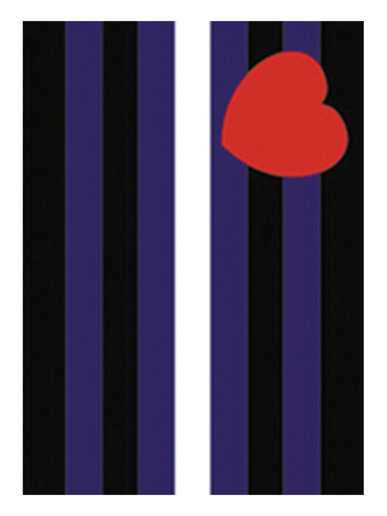 3 Leather Pride Flagge Postkarten