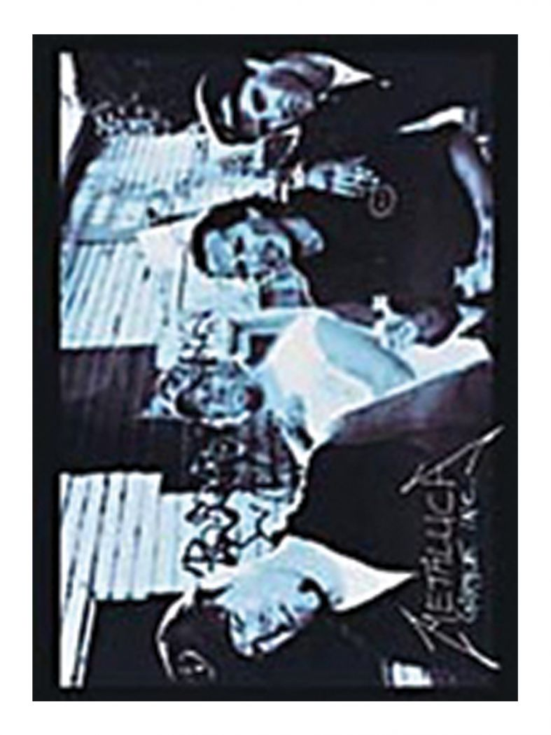 3 Metallica Picture Postkarten
