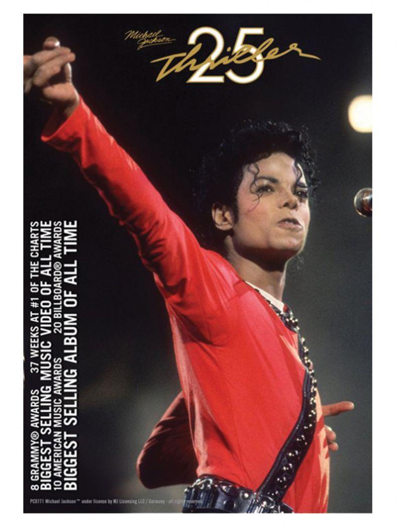 3 Michael Jackson Thriller Postkarten