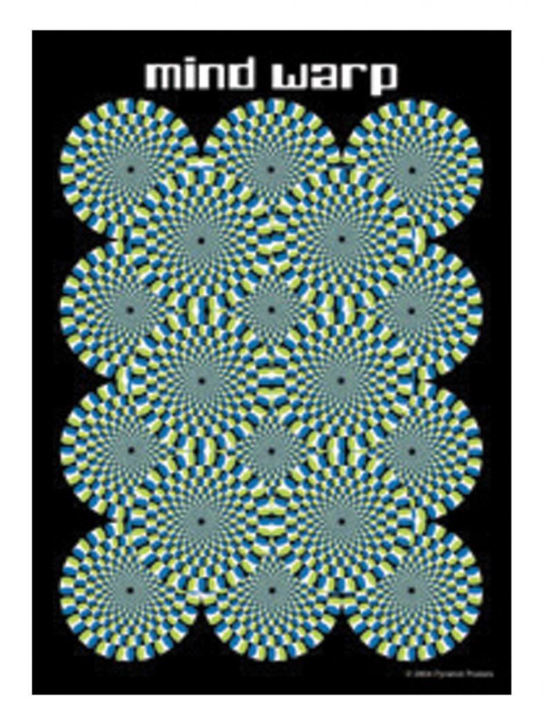 3 Mind Warp Postkarten