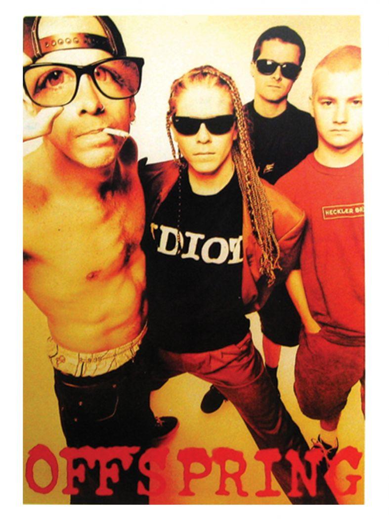 3 The Offspring Photo Postkarten