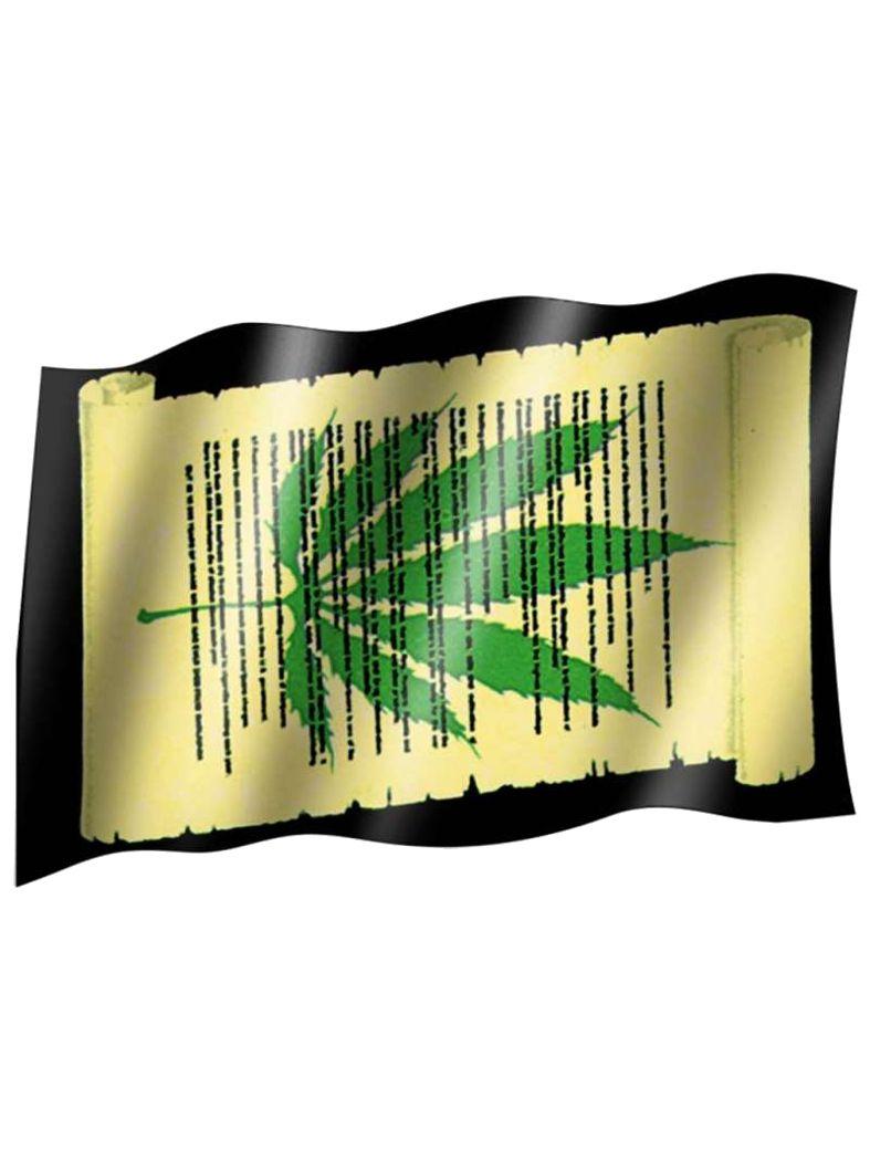 Fahne Cannabis paper