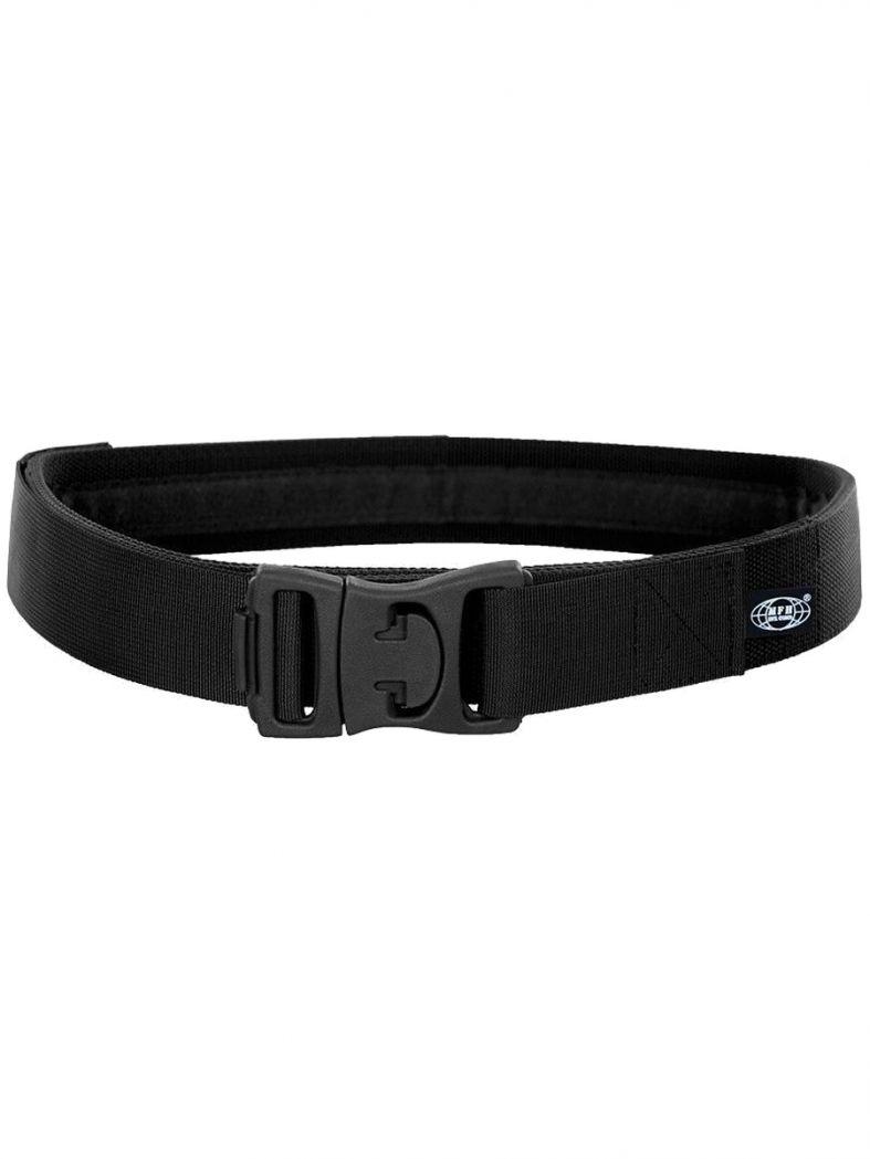 Koppel schwarz mit Sicherheitsverschluss 5 cm
