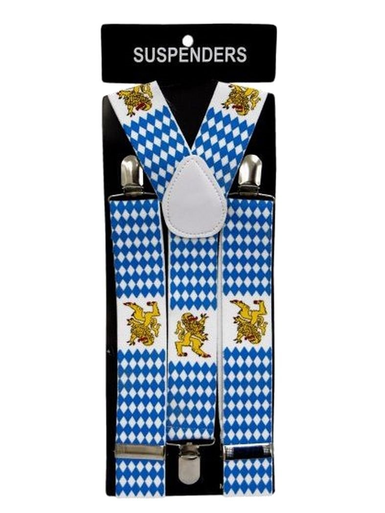 Hosenträger Bayern Löwe