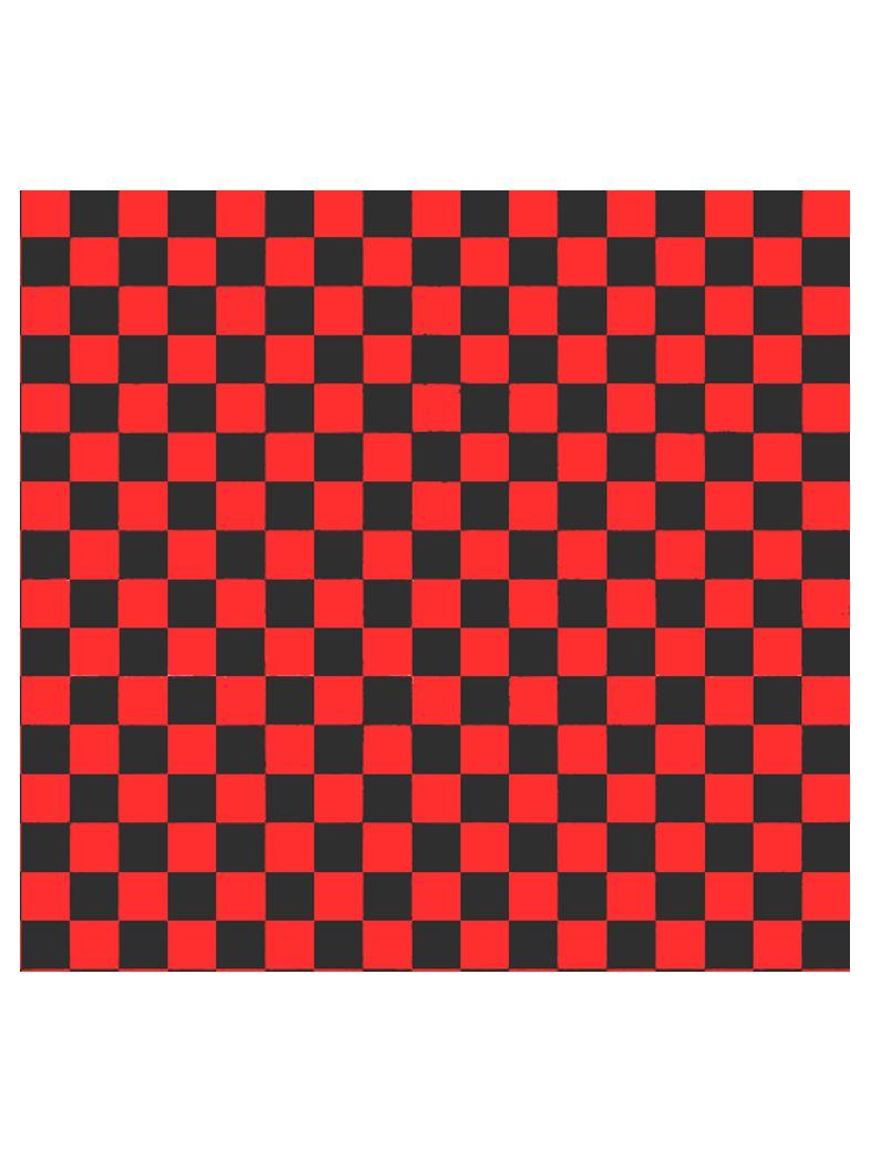 Bandana rot schwarz kariert
