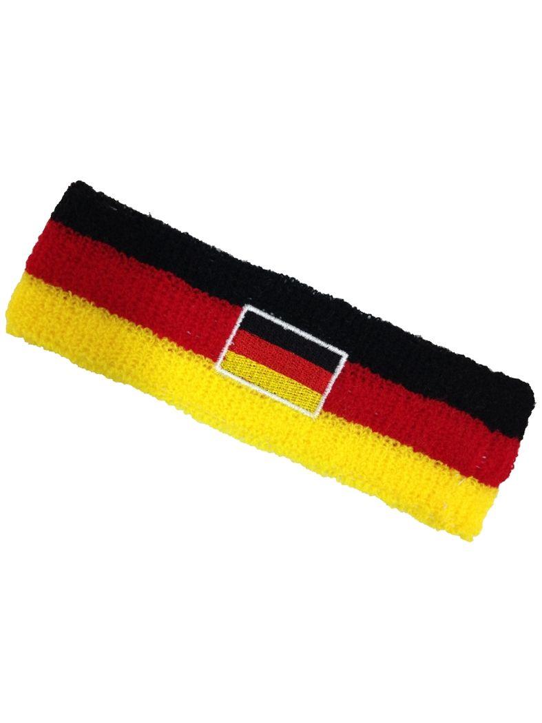 Stirnband Deutschland Flagge