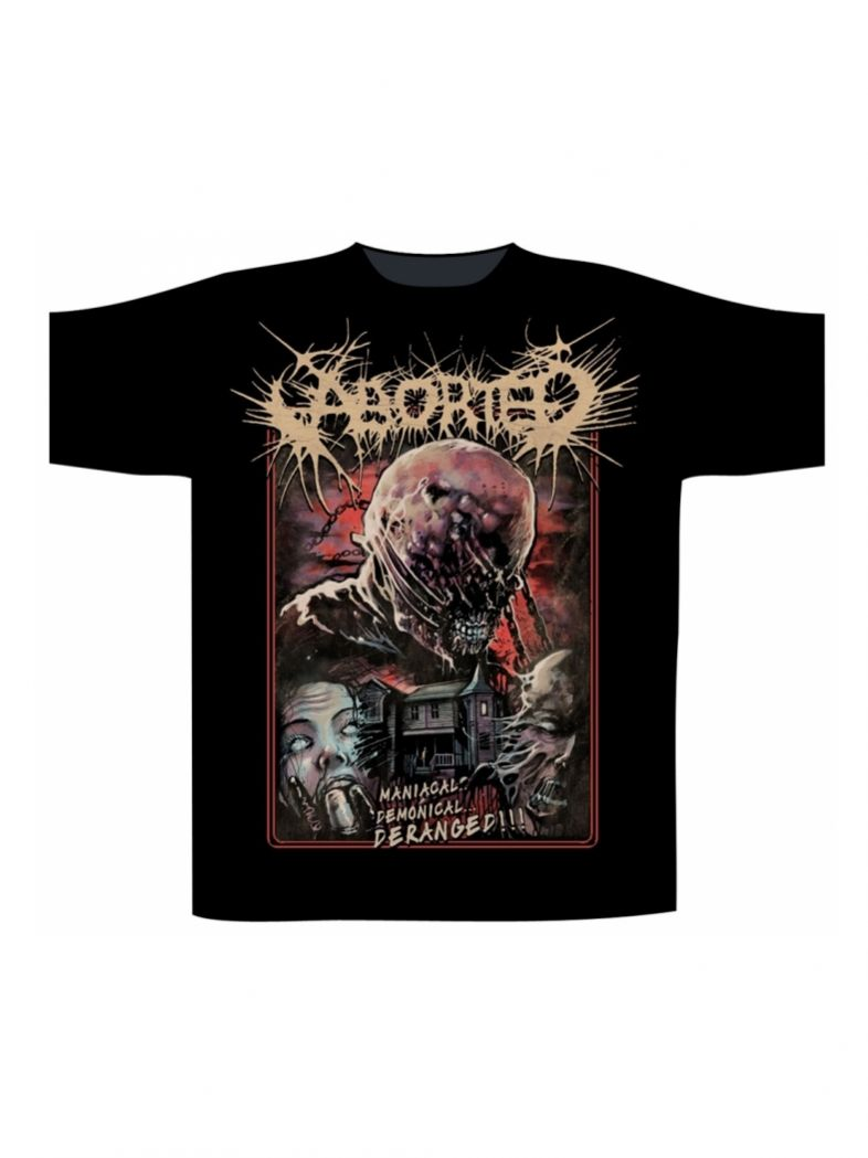 Aborted T-Shirt Deranged