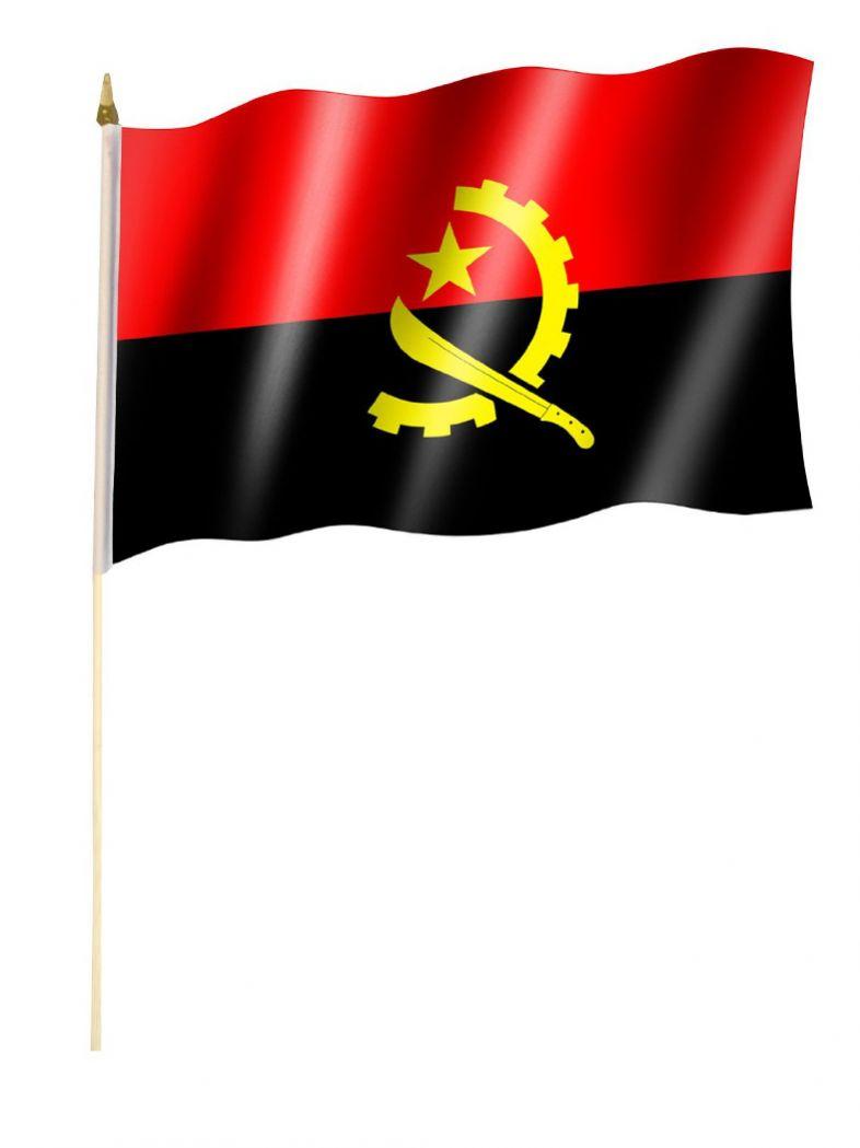 Stockfahne Angola