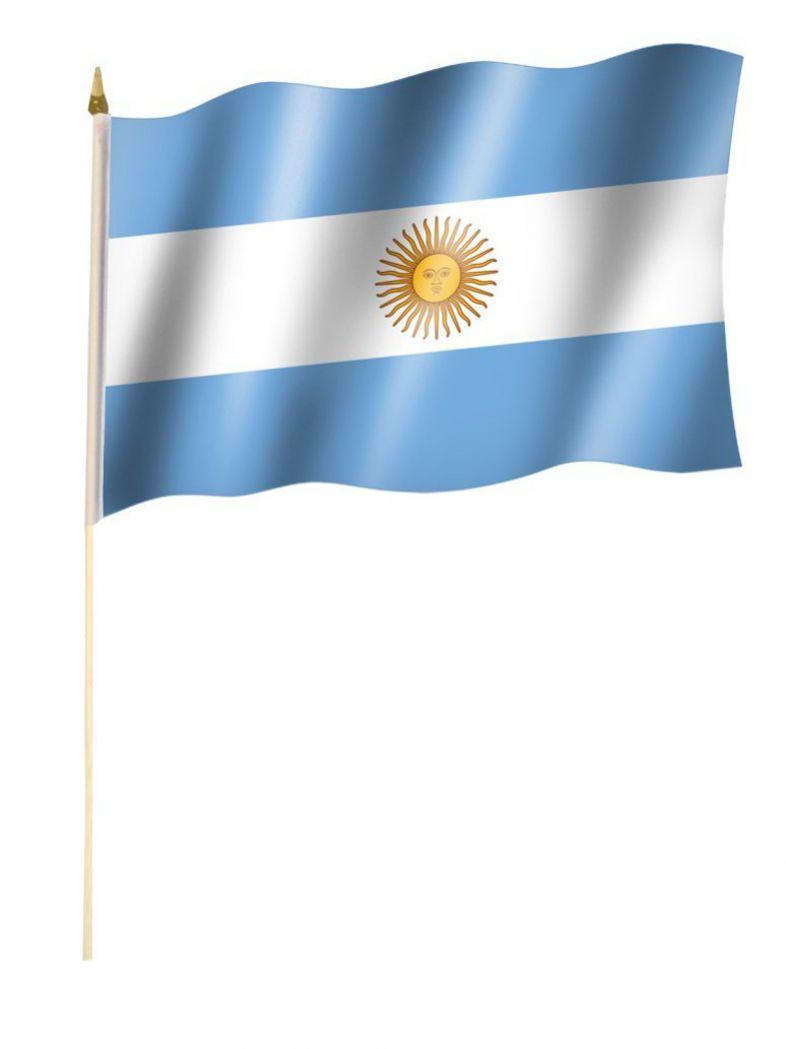 Stockfahne Argentinien