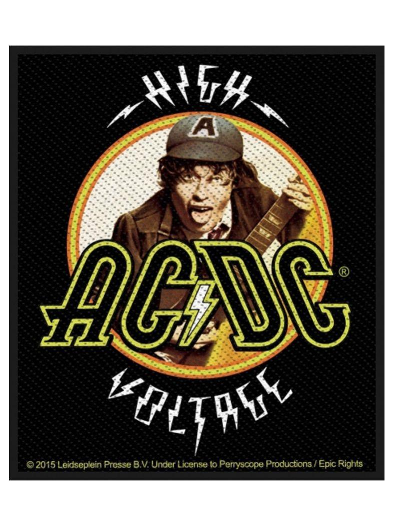 Aufnäher ACDC Angus High Voltage
