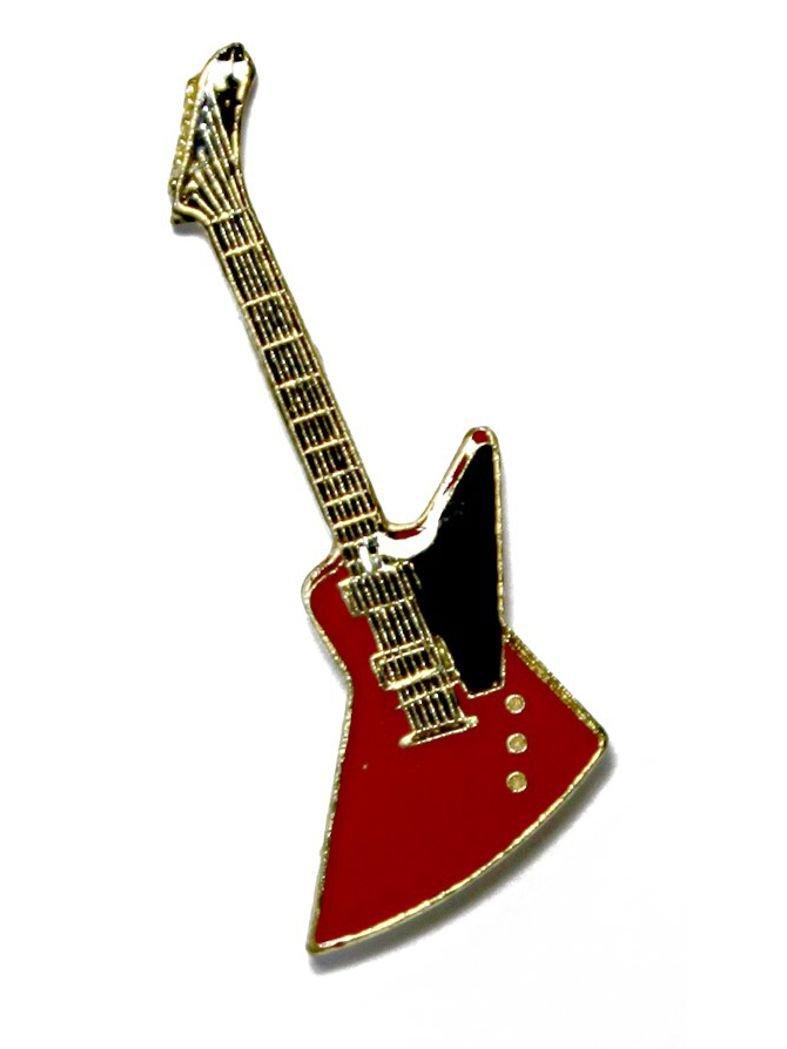 E-Gitarre rot