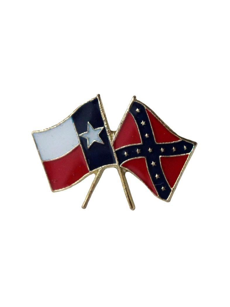 Anstecker Pin Flaggen Texas USA Süden