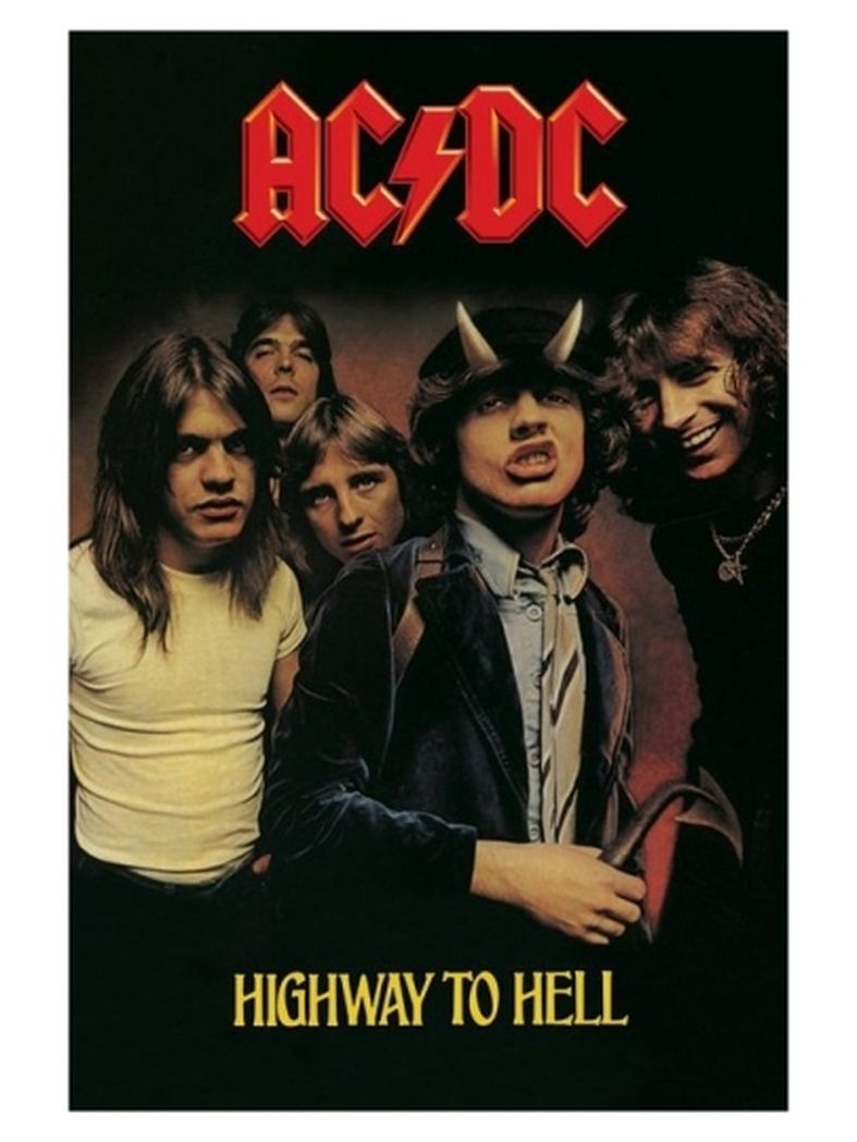 Poster ACDC Highway to Hell