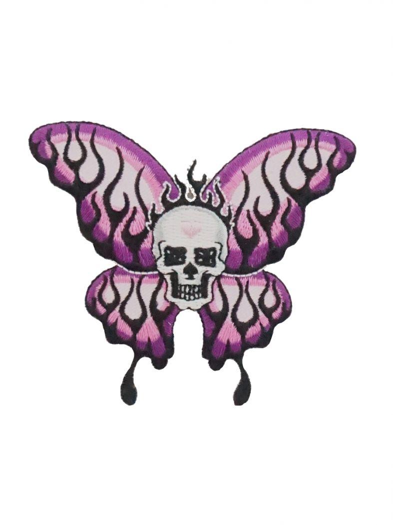 Aufbügler Skull Schmetterling