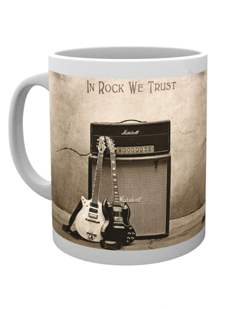 ACDC Kaffeetasse In Rock We Trust