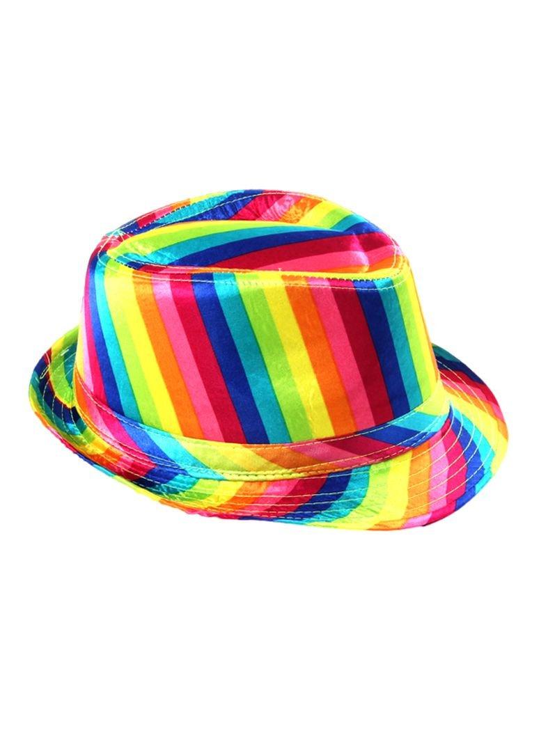 Clubstyle Party Hut Regenbogen
