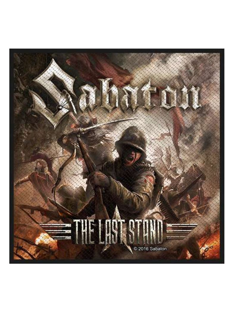 Aufnäher Sabaton The Last Stand