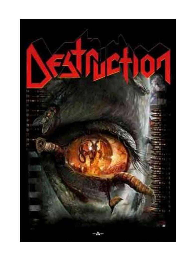 Destruction Poster Fahne