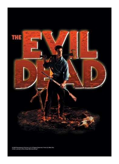 The Evil Dead Poster Fahne