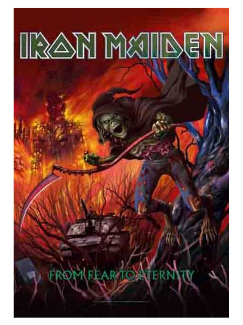 Iron Maiden Poster Fahne From Fear to Eternity