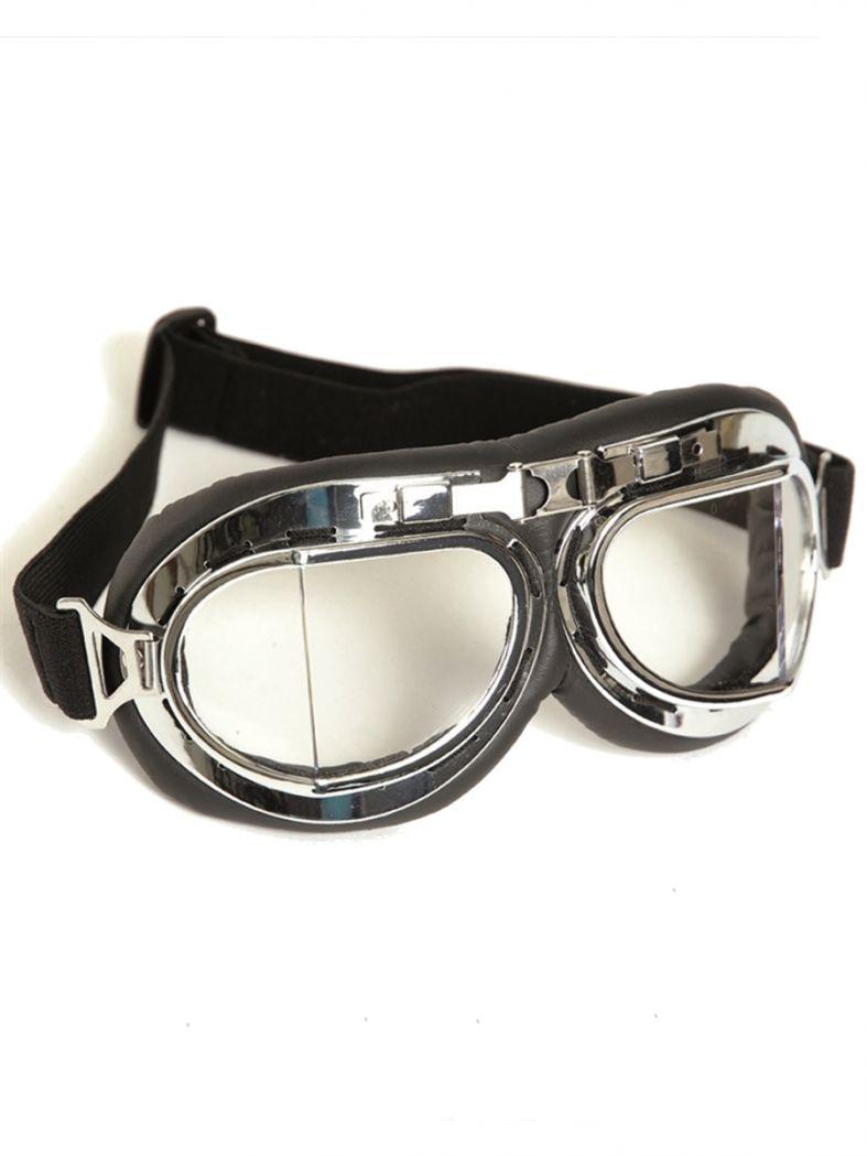 Fliegerbrille TYP RAF Royal Air Force chrom