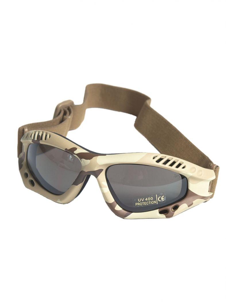 Motorrad Schutzbrille desert