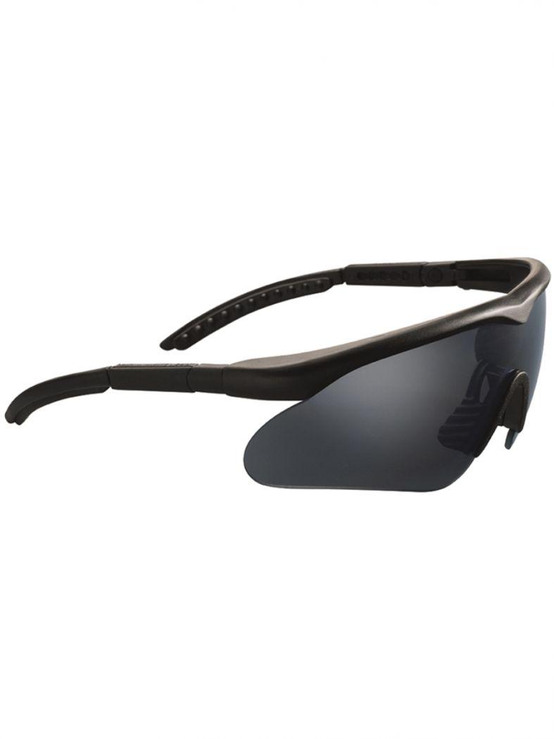 Splitterschutzbrille Raptor mit Wechselscheiben schwarz