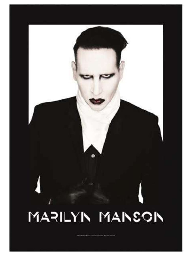 Marilyn Manson Poster Fahne Poster