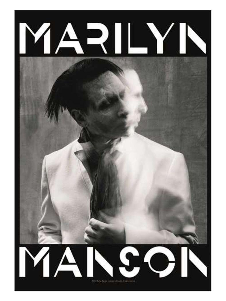 Marilyn Manson Poster Fahne Seven Days Binge