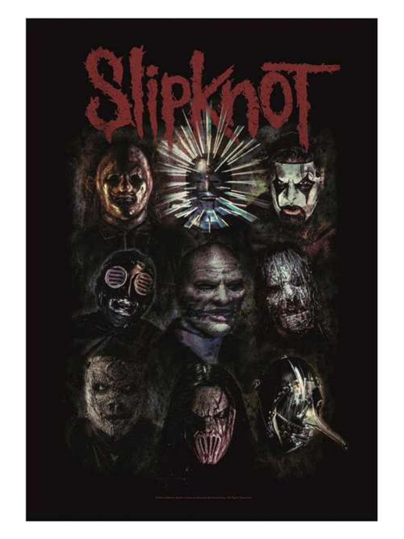 Slipknot Poster Fahne Oxidized