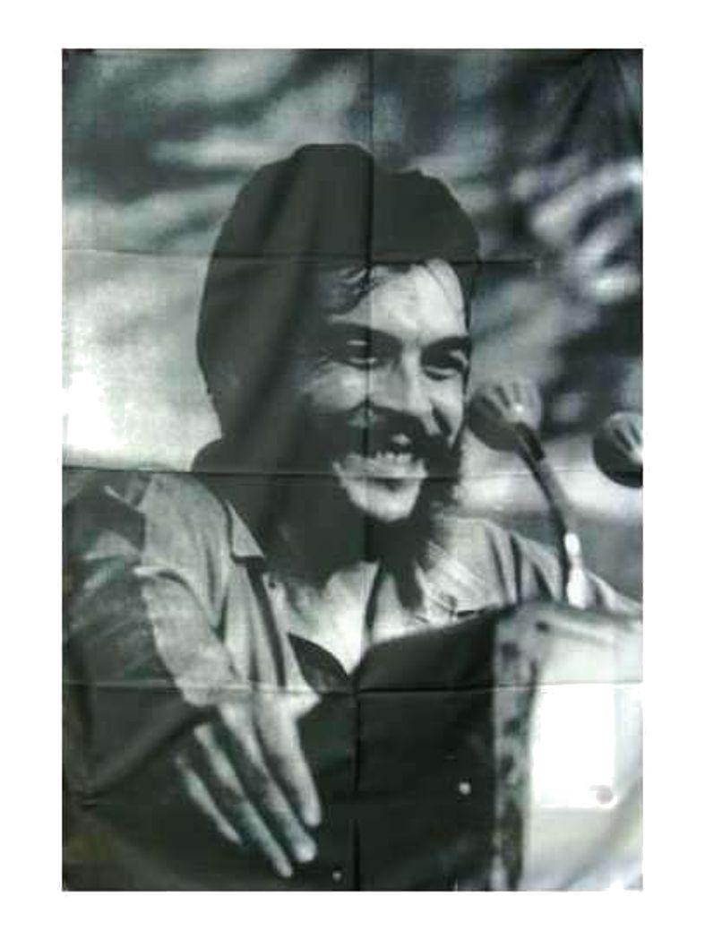 Fidel Castro Posterfahne