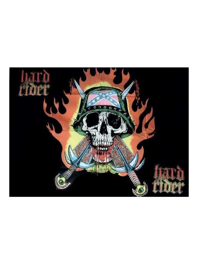 Hard Rider Posterfahne
