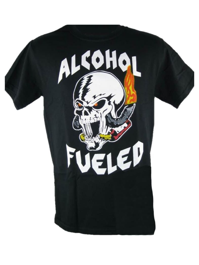 Biker T-Shirt Alcohol Fueled