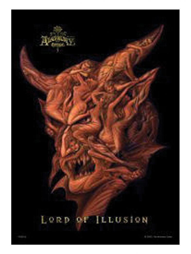 3 Lord of Illusion Postkarte